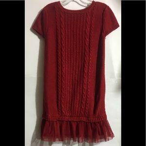 Children's Place Small Girls Sweater Dress